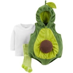 Carter's Avocado Costume Outfit